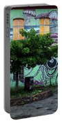 Underwater Graffiti On Studio At Metelkova City Autonomous Cultu Portable Battery Charger