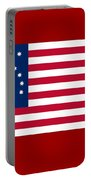 United States Flag Portable Battery Charger