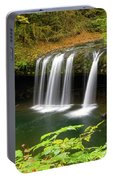 Upper Butte Creek Falls In Autumn Portable Battery Charger