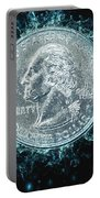 Us One Quarter Dollar Coin 25 Cents Portable Battery Charger
