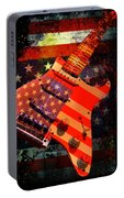 Usa Strat Guitar Music Portable Battery Charger