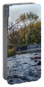 Valley Creek Waterfall - Valley Forge Pa Portable Battery Charger