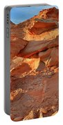 Valley Of Fire Arch At Sunrise Portable Battery Charger