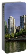 Waterfront Of Vancouver, Canada Portable Battery Charger