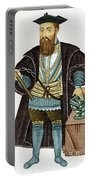 Vasco Da Gama, Portuguese Explorer Portable Battery Charger