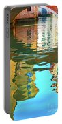 Venetian Mirror - Venice In Water Reflections Portable Battery Charger