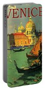 Venice, Italy, Gondolas Portable Battery Charger