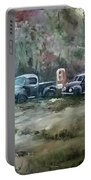 Vintage Vehicles Portable Battery Charger