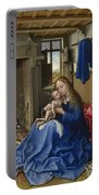 Virgin And Child In An Interior Portable Battery Charger