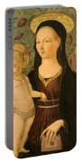 Virgin And Child With An Angel Portable Battery Charger