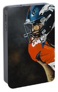 Von Miller Portable Battery Charger by Don Medina