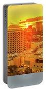 Waikiki City Sunset Portable Battery Charger