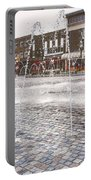 Wakefield City Centre Fountain Portable Battery Charger