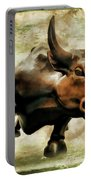 Wall Street Bull Vii Portable Battery Charger