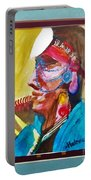 Water Healing Ceremonial Chief Yaz Portable Battery Charger