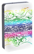Water Pattern Portable Battery Charger