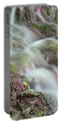Water Spring Scene Portable Battery Charger