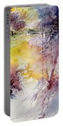 Watercolor 040908 Portable Battery Charger