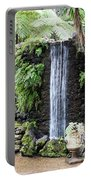 waterfall in tripcal garden Monte Madeira Portable Battery Charger