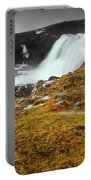 Waterfalls Of Iceland Portable Battery Charger