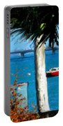 Watford Bridge From Cambridge Beaches Portable Battery Charger
