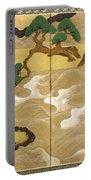 Waves At Matsushima Portable Battery Charger