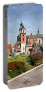 Wawel Cathedral In Krakow Portable Battery Charger