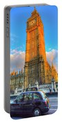Westminster Bridge And Taxi Portable Battery Charger