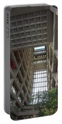 Wilson Hall At Fermilab - Interior Portable Battery Charger