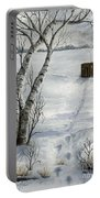 Winter Splendor Portable Battery Charger