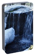 Winter Waterfall Portable Battery Charger