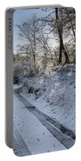 Winter Wonderland In Central Scotland Portable Battery Charger