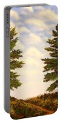 Wooded Path Portable Battery Charger