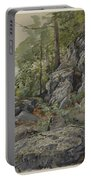 Woodland Boulders Portable Battery Charger