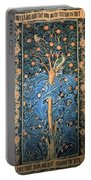 Woodpecker Tapestry Portable Battery Charger