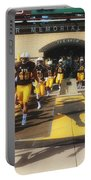 Wyoming Cowboys Entering The Field Portable Battery Charger