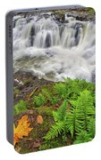 Yacolt Falls In Autumn Portable Battery Charger