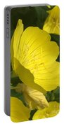 Yellow Evening Primrose Portable Battery Charger