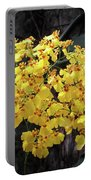 Yellow Orchids Portable Battery Charger