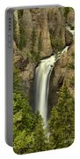 Yellowstone Tower Falls 2018 Portable Battery Charger