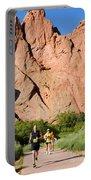 Garden Of The Gods Ten Mile Run In Colorado Springs Portable Battery Charger