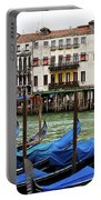 Gondola, Canals Of Venice, Italy Portable Battery Charger