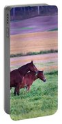 Horses Of The Fall Portable Battery Charger