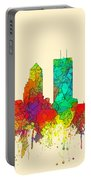 Jacksonville Florida Skyline Portable Battery Charger