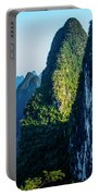 Karst Mountains And Lijiang River Scenery Portable Battery Charger