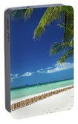 Main Beach Of Tropical Paradise Boracay Island Philippines Portable Battery Charger