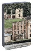 Port Arthur Building In Tasmania, Australia. Portable Battery Charger