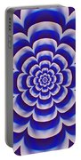 Psycho Hypno Floral Pattern Portable Battery Charger