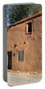 Santa Fe - Adobe Building Portable Battery Charger