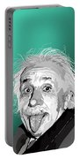 100. Imagination Is More Important Than Knowledge Portable Battery Charger